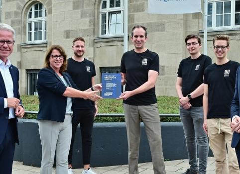 "Brain of Materials AG receives innovation award ""Rheinland Genial"""
